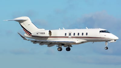 N770QS - Bombardier BD-100-1A10 Challenger 350 - NetJets Aviation