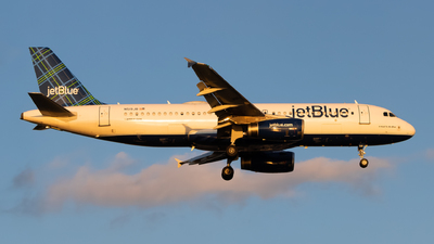 A picture of N519JB - Airbus A320232 - JetBlue Airways - © Yishai Howe
