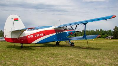 EW-032AB - PZL-Mielec An-2MC (TBC-2MC) - Belarus - DOSAAF