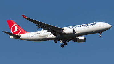 A picture of TCJNE - Airbus A330203 - Turkish Airlines - © Riccardo Balbo