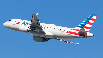N748UW - Airbus A319-112 - American Airlines