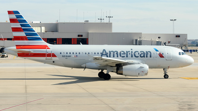N818AW - Airbus A319-132 - American Airlines