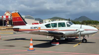 A picture of ECMPU - Piper PA23250 Aztec - [273297] - © Javier Temes - PMI Plane Spotting