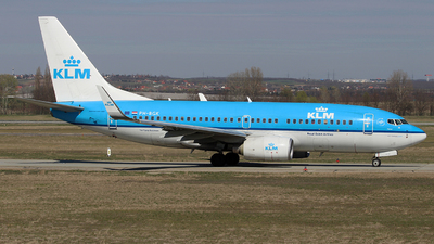 PH-BGK - Boeing 737-7K2 - KLM Royal Dutch Airlines