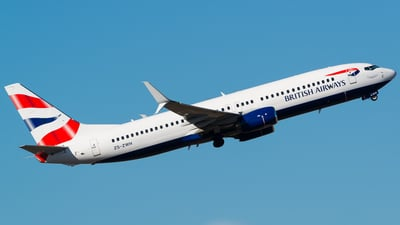 ZS-ZWH - Boeing 737-8LD - British Airways (Comair)