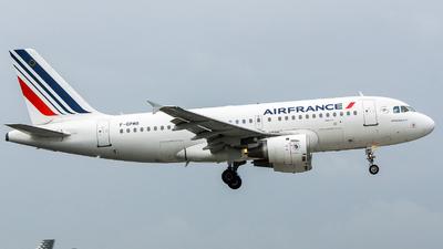 F-GPMB - Airbus A319-113 - Air France