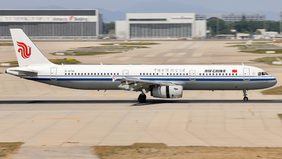A picture of B6741 - Airbus A321232 - Air China - © LZFAN