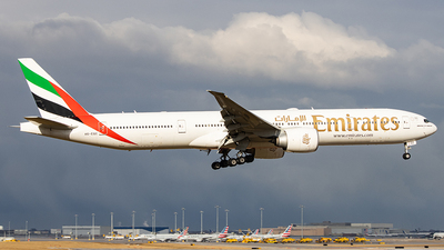 A picture of A6EQC - Boeing 77731H(ER) - Emirates - © Sean Brink