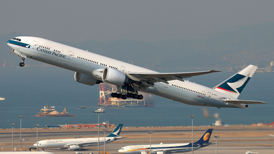 B-KPK - Boeing 777-367ER - Cathay Pacific Airways