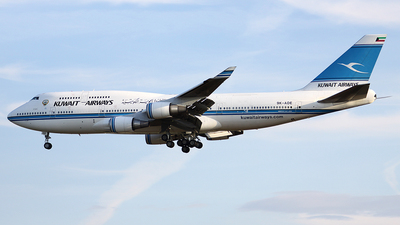 9K-ADE - Boeing 747-469(M) - Kuwait Airways