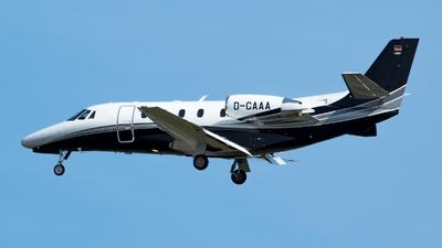 D-CAAA - Cessna 560XL Citation XLS Plus - DC Aviation