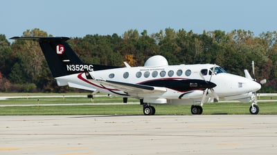 N352BC - Beechcraft MC-12W Huron - L-3 Communications