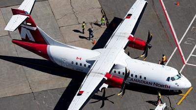 A picture of CFTIZ - ATR 42500 - Canadian North - © Alex Praglowski