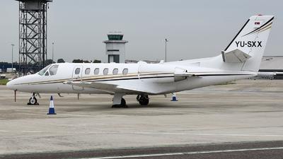 YU-SXX - Cessna 550B Citation Bravo - Air Pink