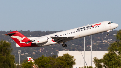 A picture of VHNHJ - Fokker 100 - Qantas - © Will.Taylor