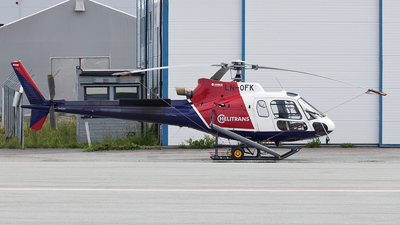LN-OFK - Airbus Helicopters H125 - Helitrans