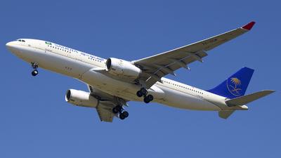 TC-OCM - Airbus A330-243 - Saudi Arabian Airlines (Onur Air)