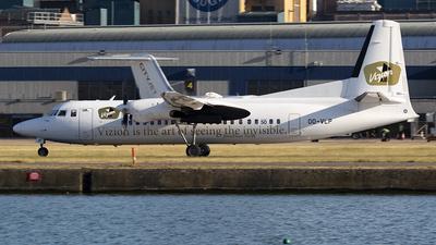 OO-VLP - Fokker 50 - Vizion Air