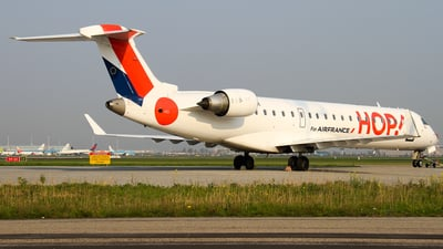 F-GRZH - Bombardier CRJ-701 - HOP! for Air France
