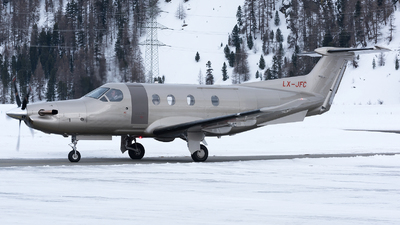 LX-JFC - Pilatus PC-12NG - Private