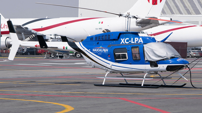 XC-LPA - Bell 206L-4 Long Ranger IV - Mexico - Police