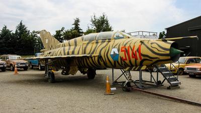 5141 - Mikoyan-Gurevich MiG-21US Mongol B - Poland - Air Force