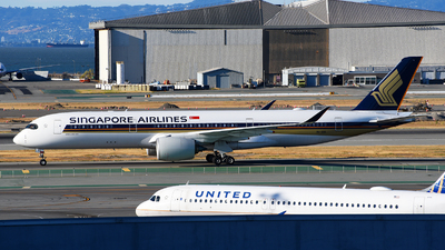 9V-SGG - Airbus A350-941 - Singapore Airlines