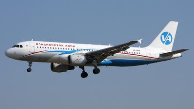VP-BRB - Airbus A320-212 - Vladivostok Air