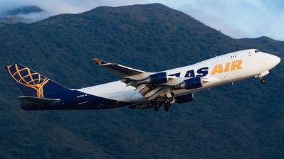 A picture of N475MC - Boeing 74747U(F) - Atlas Air - © Thomas Shum - Skies of Pearl