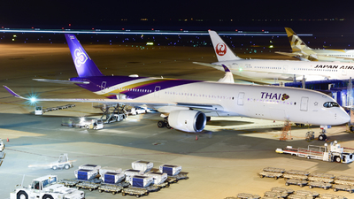 HS-THM - Airbus A350-941 - Thai Airways International