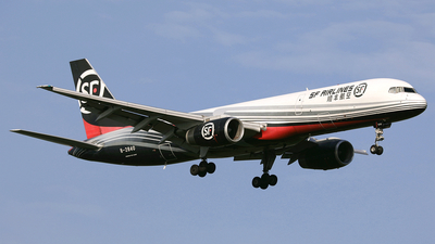 A picture of B2840 - Boeing 7572Z0(PCF) - SF Airlines - © diqin265