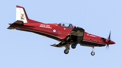 A picture of A54015 - Pilatus PC21 - [248] - © Brenden