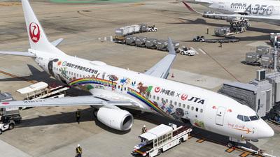 JA11RK - Boeing 737-8Q3 - Japan TransOcean Air (JTA)