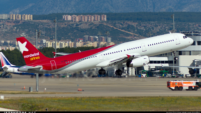 VQ-BRN - Airbus A321-231 - Nordwind Airlines