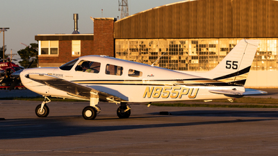 N855PU - Piper PA-28-181 Archer TX - Purdue University
