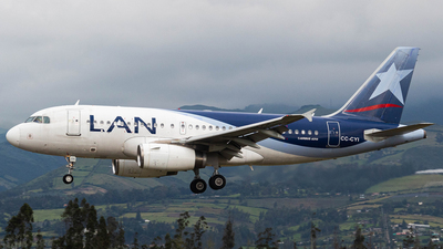 A picture of CCCYI - Airbus A319132 - LATAM Airlines - © Martin Blanco C