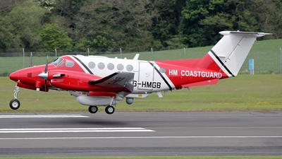 A picture of GHMGB - Beech 200 Super King Air -  - © Ian Howat