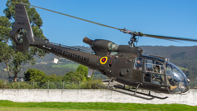 AEE-373 - Aérospatiale SA 342L Gazelle - Ecuador - Army