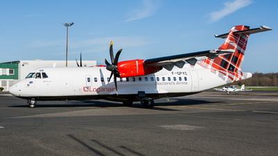 F-GPYC - ATR 42-500 - Loganair