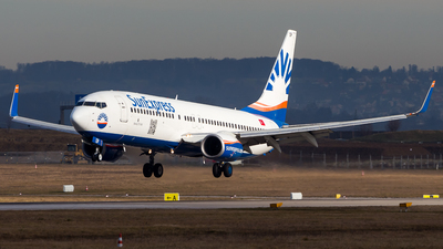 A picture of TCSOP - Boeing 7378AS - SunExpress - © Chr Pe