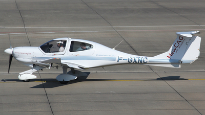 F-GXNC - Diamond DA-40D Diamond Star TDI - Private