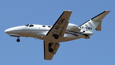 A picture of 4XCMA - Cessna 510 Citation Mustang - [5100299] - © ikeharel