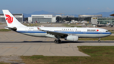 A picture of B6132 - Airbus A330243 - Air China - © JJ Wang