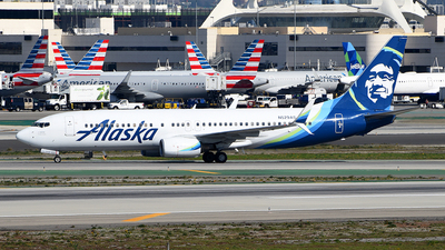 A picture of N529AS - Boeing 737890 - Alaska Airlines - © Rocky Wang