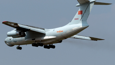 20549 - Ilyushin IL-76TD - China - Air Force