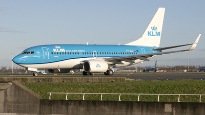 A picture of PHBGL - Boeing 7377K2 - KLM - © Freek Blokzijl
