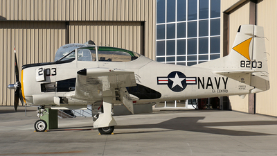 N372C - North American T-28B Trojan - Private