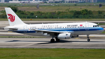 B-2404 - Airbus A319-131 - Air China