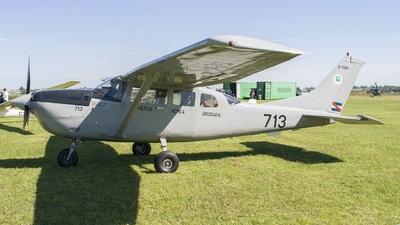 FAU713 - Cessna U206H Stationair - Uruguay - Air Force