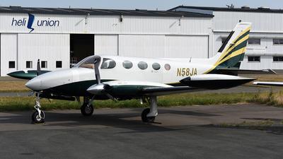 N58JA - Cessna 340A - Private